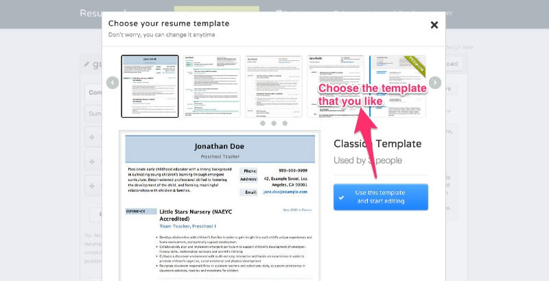 Choose from our beautiful resume templates and designs - Resumonk Online Resume Maker