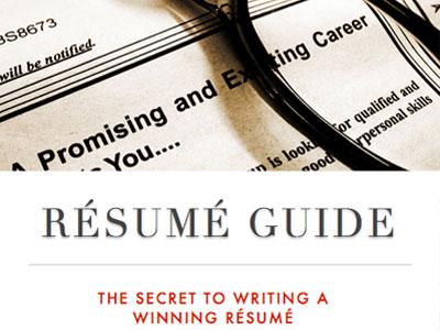 Free Resume Writing eBook - PDF Download