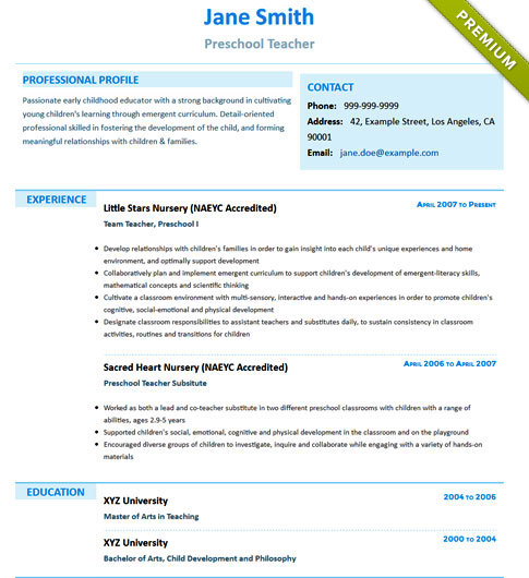Resume Template - 'Stylismo' | Create your CV